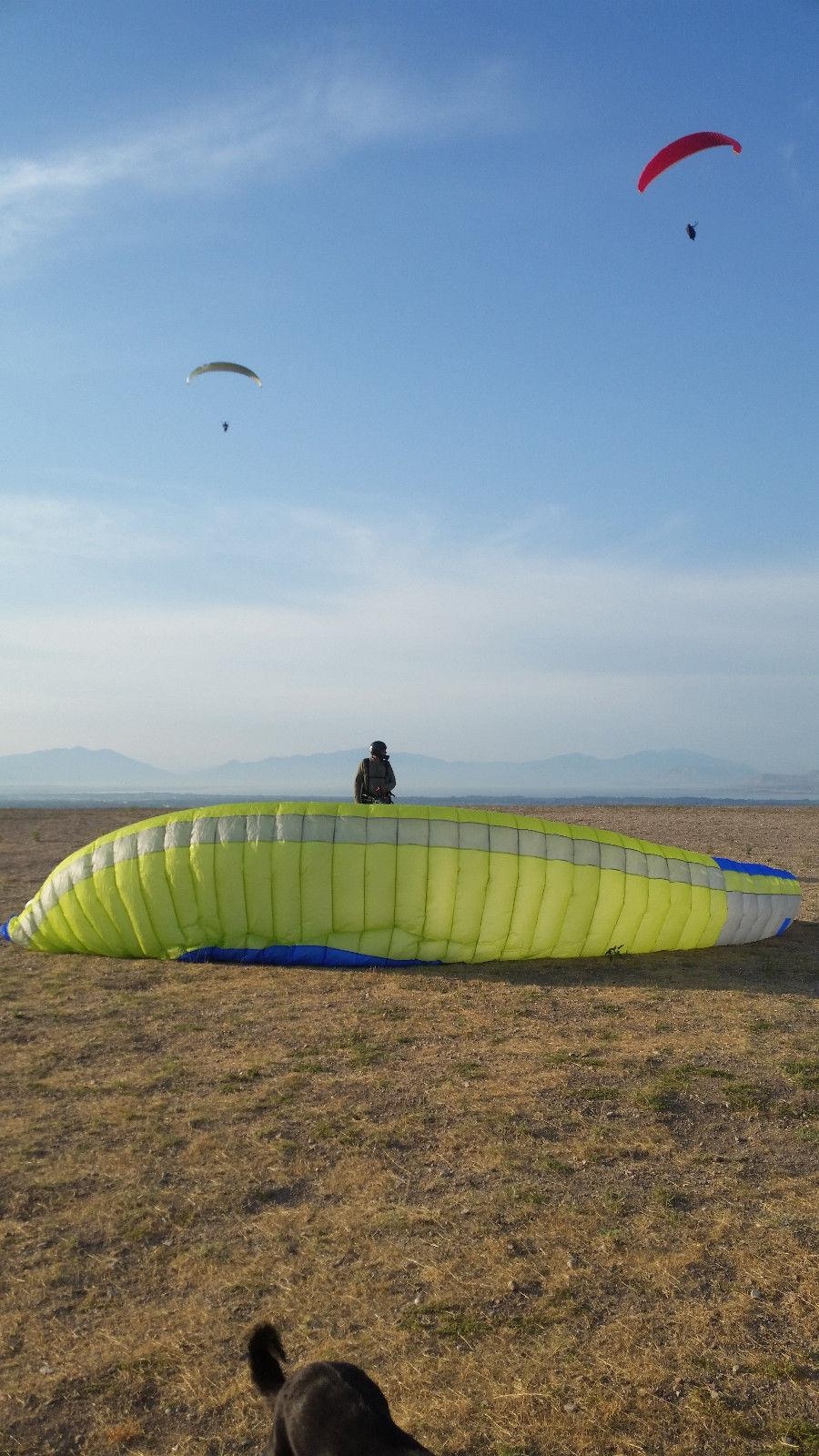 2017 777 Rook 2 paragliding wing ML95-115kg excellent condition less than 5 Hrs - main image