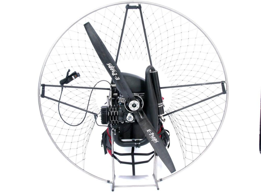 Light Weight Electric Start Titanium Paramotor Nitro 200 from Air Conception - main image